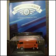 Kombi T2 Comercial 1976 - Coleção Carros Inesquecíveis Do Br