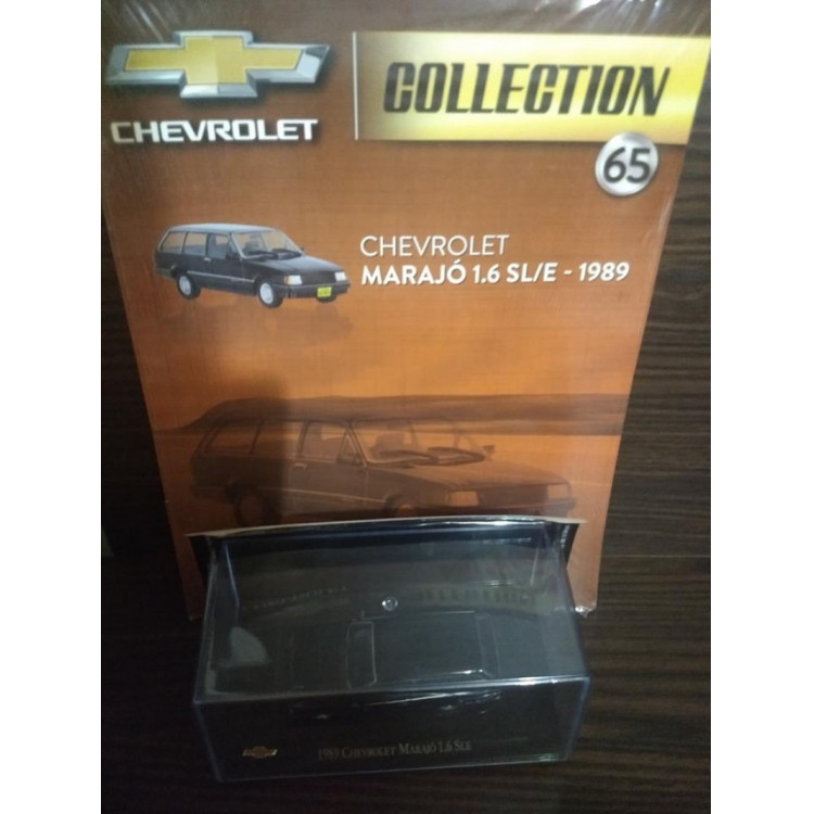 Marajó Sl/e Jr 1989 - Chevrolet Collection - Ed. 65