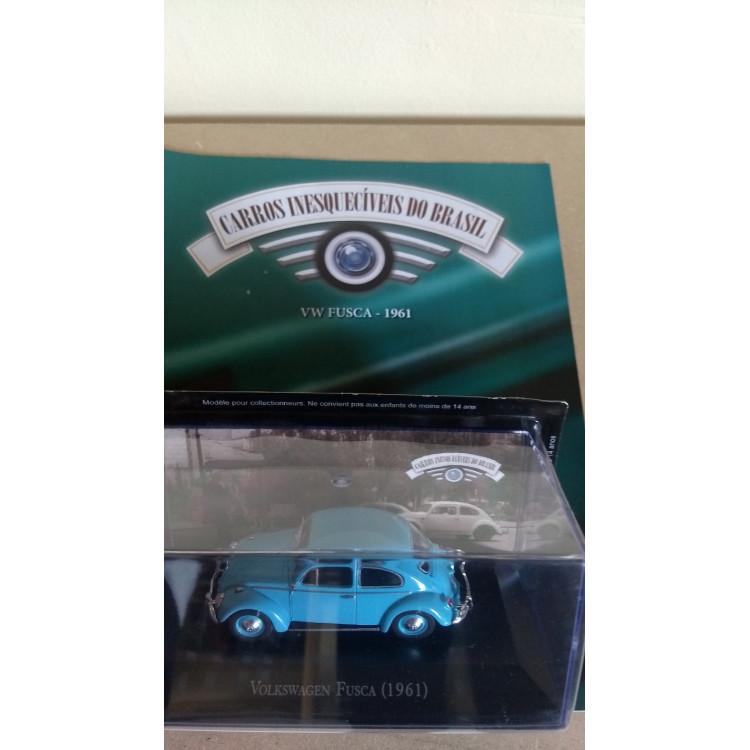 Fusca 1961 - Coleção Carros Inesquecíveis Do Br