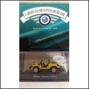 Gurgel Xavante 1972 - Coleção Carros Inesquecíveis Do Br