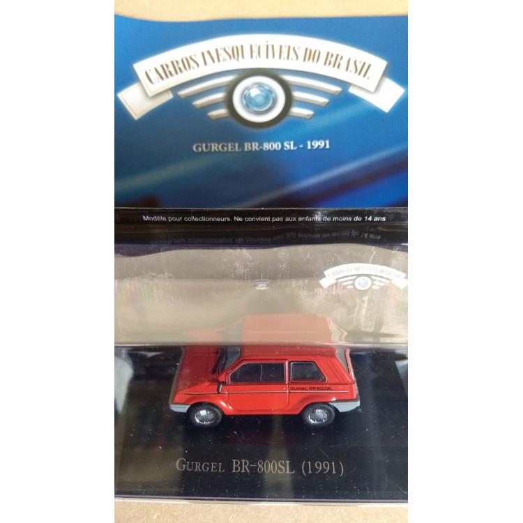 Gurgel Br-800 Sl - Coleção Carros Inesquecíveis Do Br