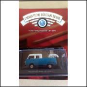 Kombi Cd 1981 - Coleção Carros Inesquecíveis Do Br