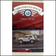 Gurgel Xr 12 - Tr 1991 - Coleção Carros Inesquecíveis Do Br