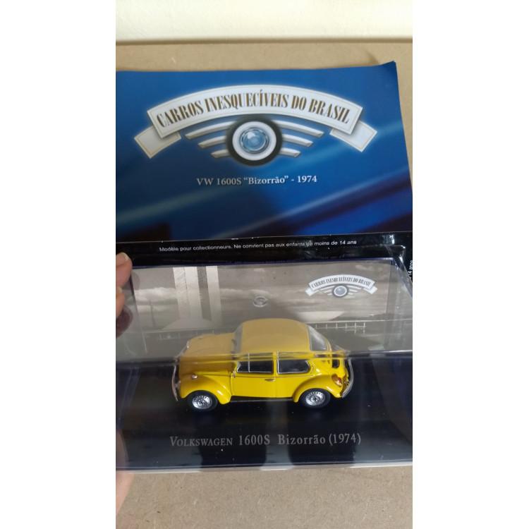 Fusca Bizorrão 1974 - Coleção Carros Inesquecíveis Do Br