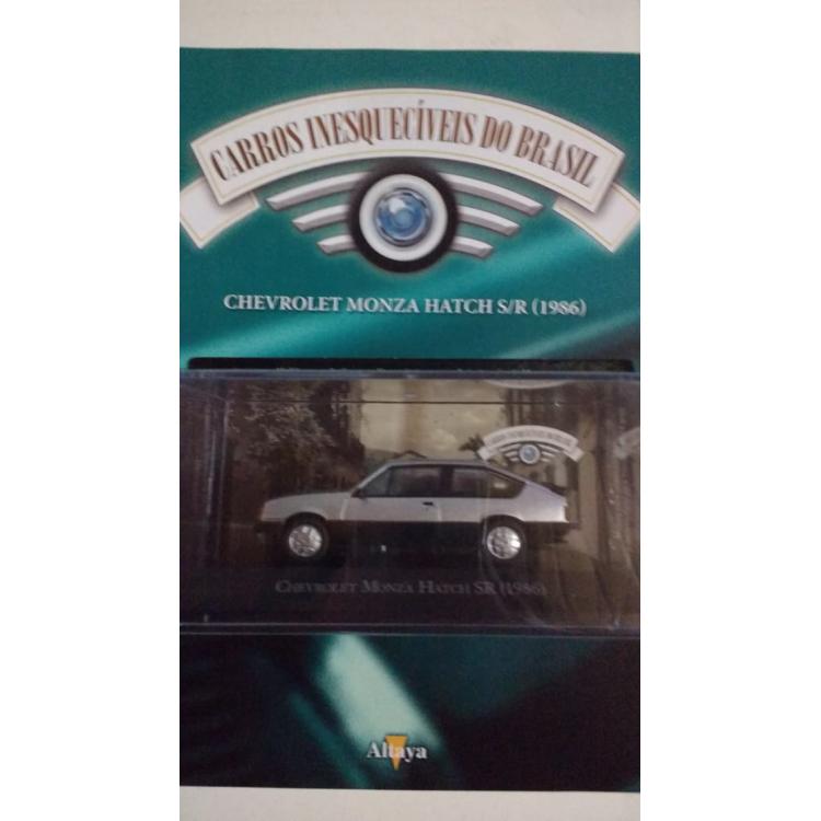 Monza Hatch Sr 1986 - Coleção Carros Inesquecíveis