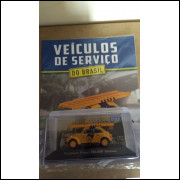 Fusca Telesp - Coleção Carros De Serviço Do Brasil Ed. 03