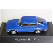 Volskwagem Tl 1972 - Coleção Carros Inesquecíveis Do Br