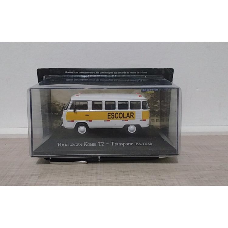 Kombi Escolar - Coleção Carros De Serviço Ed. N. 01
