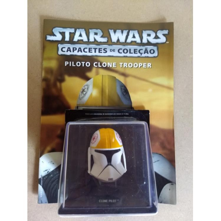 Coleção Capacete Star Wars - Vol.17 Piloto Clone Trooper