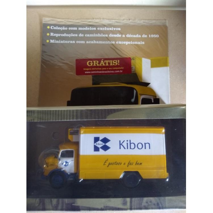 Kibon - Coleção Caminhões Brasileiros - Ed. N. 01