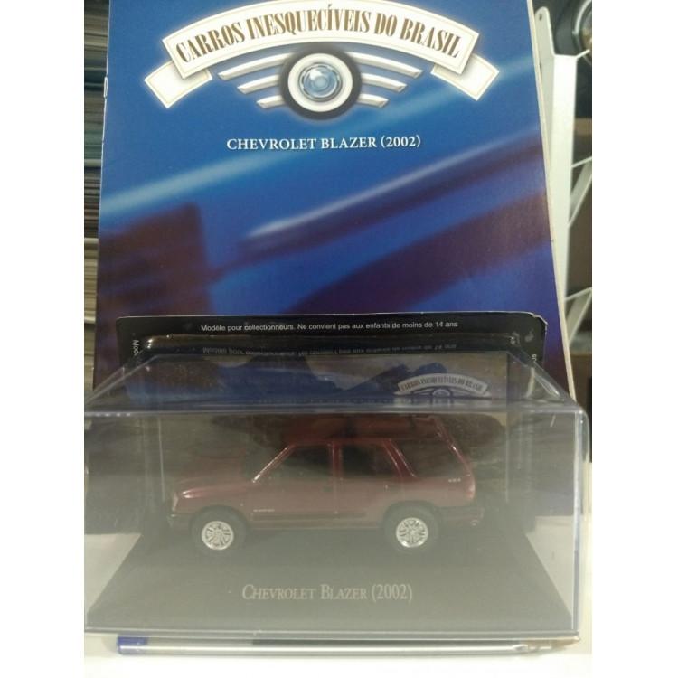 Blazer 2002 - Coleção Carros Inesquecíveis Do Br